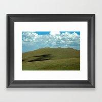 Rocky Mountain Green Tun… Framed Art Print