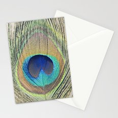 Peacock Feather No.2 Stationery Cards