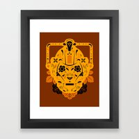 Sugar Cybermen Framed Art Print