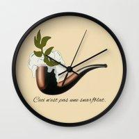 The Treachery of Seagulls Wall Clock