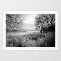 Blagdon Lake Art Print