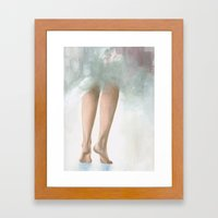 Barely A Whisper Framed Art Print