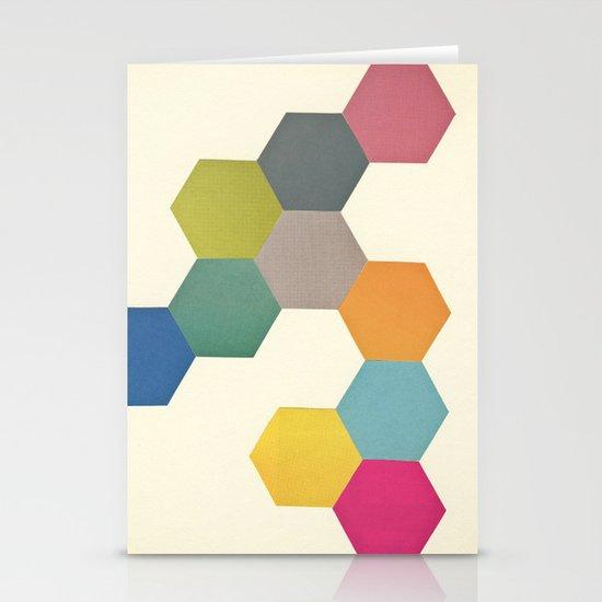 Honeycomb I Stationery Card
