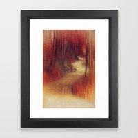 Walking to ...  Framed Art Print