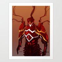 Flare Armor Art Print
