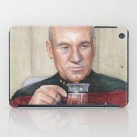 Captain Picard Earl Grey Tea | Star Trek Painting iPad Case
