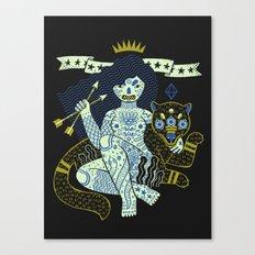 Perilous Queen Canvas Print