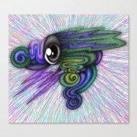 Psicho-eye Canvas Print