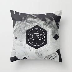 Moon Eye Throw Pillow