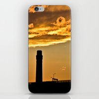 Golden Sunset iPhone & iPod Skin