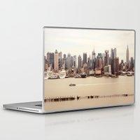 nyc Laptop & iPad Skins featuring NYC by Enkel Dika