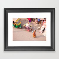 India New Delhi Paharganj 5556 Framed Art Print