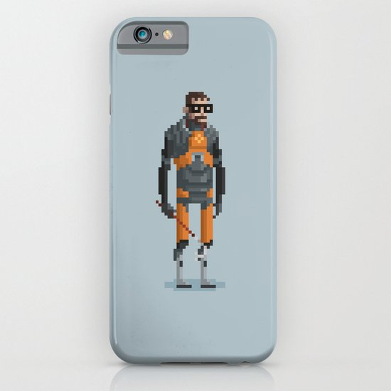 Man With a Crowbar iPhone & iPod Case