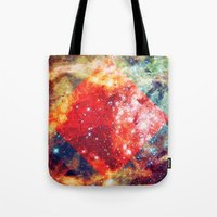 Stars on Fire Tote Bag