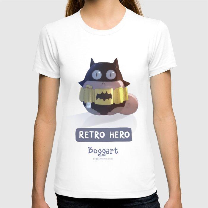Retro hero t shirt by rihards donskis society6 for Retro superhero t shirts