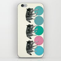 Hungry Wolves iPhone & iPod Skin