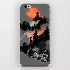 A samurai's life iPhone & iPod Skin
