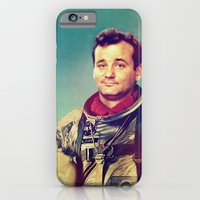iPhone & iPod Case featuring Space Murray by rubbishmonkey