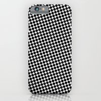 iPhone & iPod Case featuring BLACK DOT by Mr.DOT