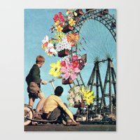 Bloomed Joyride Canvas Print