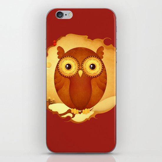 Tawny Owl iPhone & iPod Skin