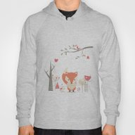 Christmas Baby Fox 03 Hoody