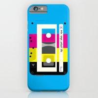 CMYK Mix Tape Called Lif… iPhone 6 Slim Case