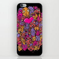 Face Melter iPhone & iPod Skin