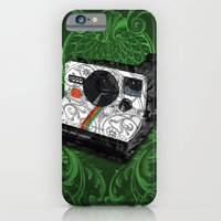 iPhone & iPod Case featuring Horror Vacui - POLAROID by YIDO