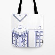 Tardis - Light Tote Bag
