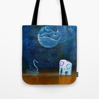 Earth Meeting Sky - On F… Tote Bag