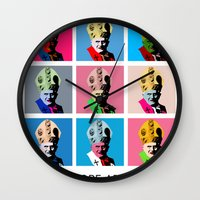 Pope Art Wall Clock