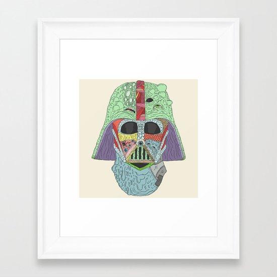 Goreth Vader Framed Art Print