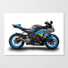 Honda CBR fireblade. Canvas Print