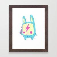 Baby Lemi The Space Wand… Framed Art Print