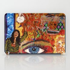 Militant Millie and the Peace Grenade iPad Case