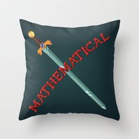 Mathematical Throw Pillow