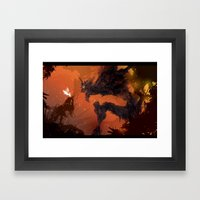The Soul Was Prologue Framed Art Print