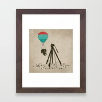 Supersize Cam Attraction Framed Art Print