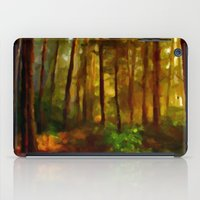 Morning In The Woods - Painting Style iPad Case