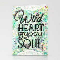 Wild Heart, Gypsy Soul Stationery Cards