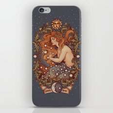 COSMIC LOVER color version iPhone & iPod Skin