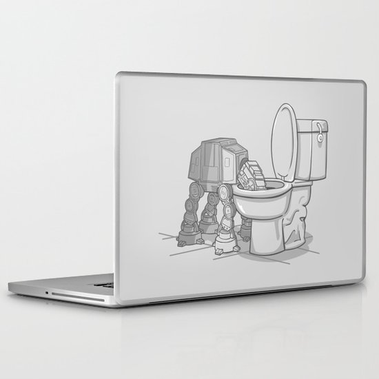 Bad, bad Walker Laptop & iPad Skin