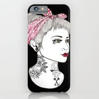 iPhone & iPod Case featuring Nose Ring by Lilyana Reyes