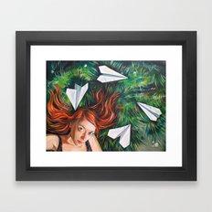 Summer Grass. Tuzello's Dream. Framed Art Print