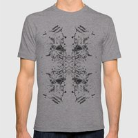 Equilibrium 03 Mens Fitted Tee Athletic Grey SMALL