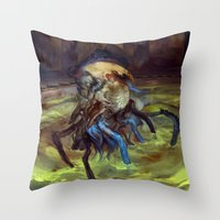 Thrull Throw Pillow