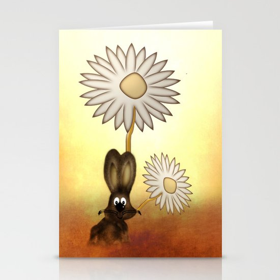 Rabbit Stationery Card