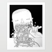 Eat Millo Art Print