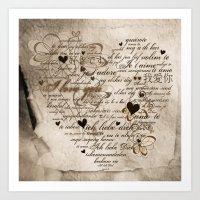 Ich Liebe Dich -  I Love… Art Print